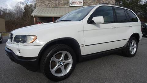 2002 BMW X5 for sale at Driven Pre-Owned in Lenoir NC