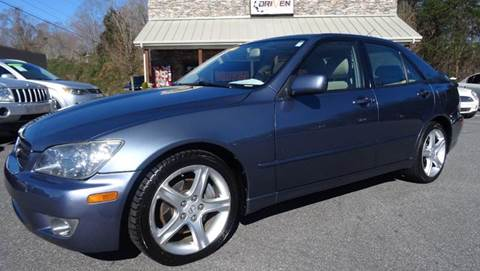 2005 Lexus IS 300 for sale at Driven Pre-Owned in Lenoir NC