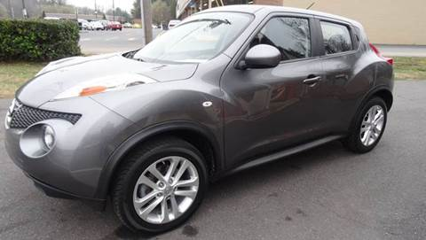 2012 Nissan JUKE for sale at Driven Pre-Owned in Lenoir NC
