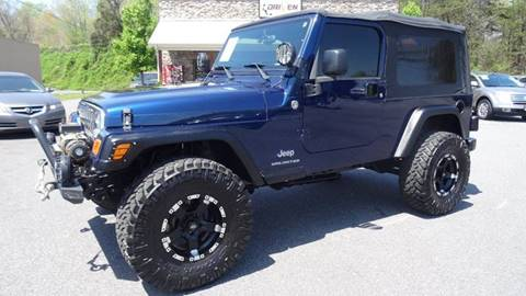 2005 Jeep Wrangler for sale at Driven Pre-Owned in Lenoir NC