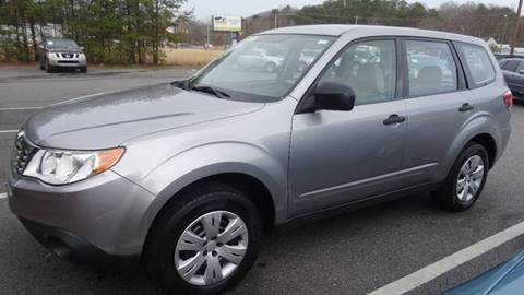 2009 Subaru Forester for sale at Driven Pre-Owned in Lenoir NC
