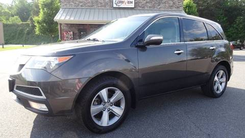 2011 Acura MDX for sale at Driven Pre-Owned in Lenoir NC