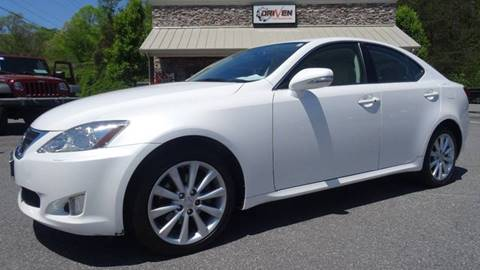 2009 Lexus IS 250 for sale at Driven Pre-Owned in Lenoir NC