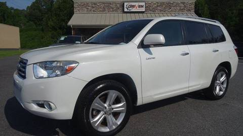 2010 Toyota Highlander for sale at Driven Pre-Owned in Lenoir NC