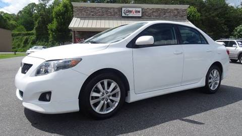 2009 Toyota Corolla for sale at Driven Pre-Owned in Lenoir NC