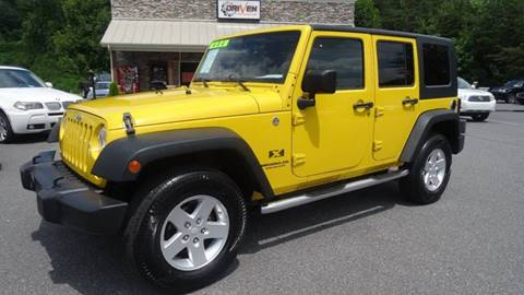 2008 Jeep Wrangler Unlimited for sale at Driven Pre-Owned in Lenoir NC