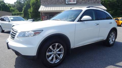 2008 Infiniti FX35 for sale at Driven Pre-Owned in Lenoir NC