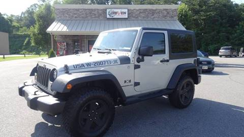 2007 Jeep Wrangler for sale at Driven Pre-Owned in Lenoir NC