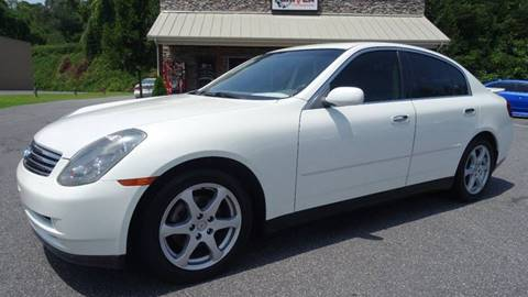 2003 Infiniti G35 for sale at Driven Pre-Owned in Lenoir NC