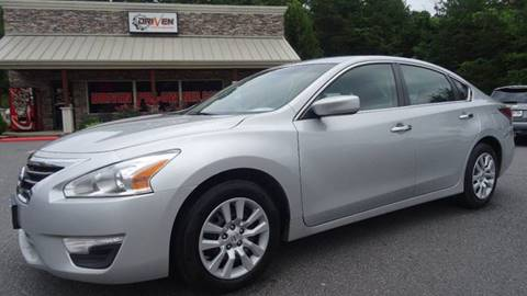 2015 Nissan Altima for sale at Driven Pre-Owned in Lenoir NC