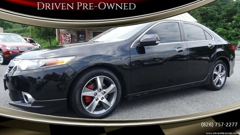 2012 Acura TSX for sale at Driven Pre-Owned in Lenoir NC