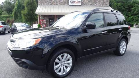 2011 Subaru Forester for sale at Driven Pre-Owned in Lenoir NC