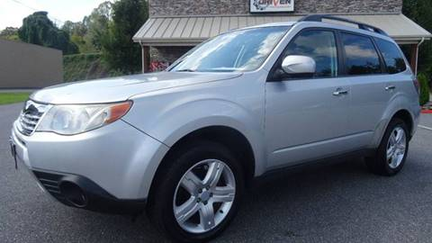 2010 Subaru Forester for sale at Driven Pre-Owned in Lenoir NC