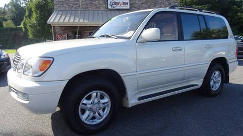 1998 Lexus LX 470 for sale at Driven Pre-Owned in Lenoir NC