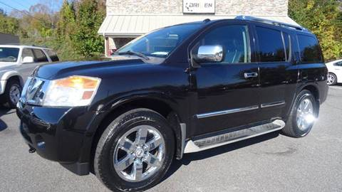 2010 Nissan Armada for sale at Driven Pre-Owned in Lenoir NC