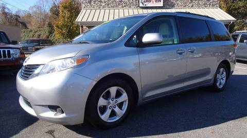 2011 Toyota Sienna for sale at Driven Pre-Owned in Lenoir NC