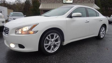 2013 Nissan Maxima for sale at Driven Pre-Owned in Lenoir NC