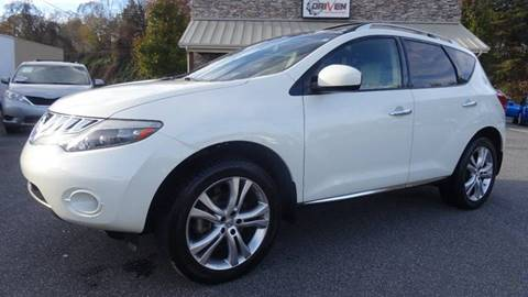 2010 Nissan Murano for sale at Driven Pre-Owned in Lenoir NC