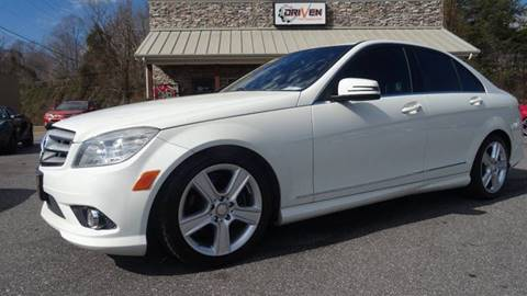 2010 Mercedes-Benz C-Class for sale at Driven Pre-Owned in Lenoir NC