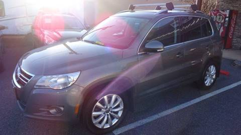 2011 Volkswagen Tiguan for sale at Driven Pre-Owned in Lenoir NC