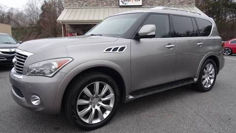 2012 Infiniti QX56 for sale at Driven Pre-Owned in Lenoir NC