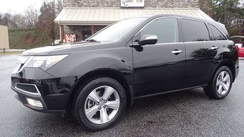 2013 Acura MDX for sale at Driven Pre-Owned in Lenoir NC