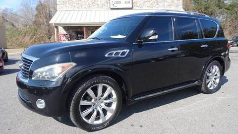 2011 Infiniti QX56 for sale at Driven Pre-Owned in Lenoir NC