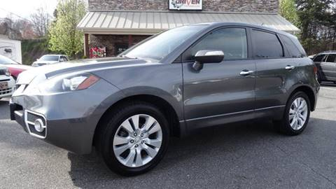 2011 Acura RDX for sale at Driven Pre-Owned in Lenoir NC