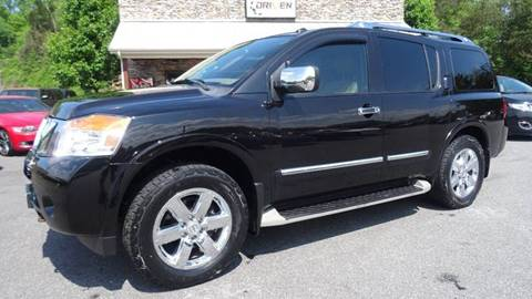 2011 Nissan Armada for sale at Driven Pre-Owned in Lenoir NC