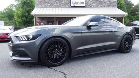 2016 Ford Mustang for sale at Driven Pre-Owned in Lenoir NC