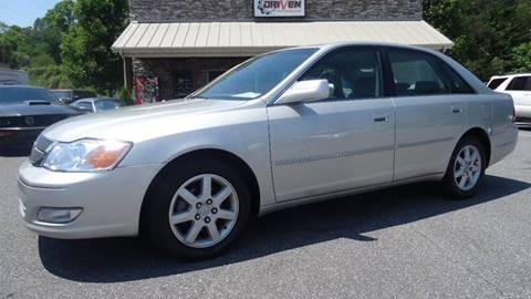 2002 Toyota Avalon for sale at Driven Pre-Owned in Lenoir NC