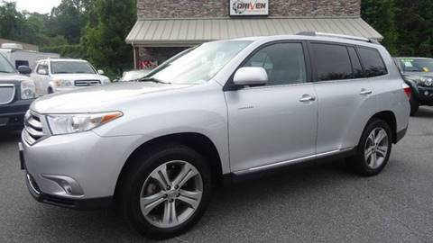 2011 Toyota Highlander for sale at Driven Pre-Owned in Lenoir NC