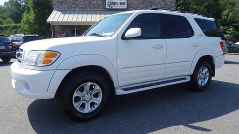 2002 Toyota Sequoia for sale at Driven Pre-Owned in Lenoir NC