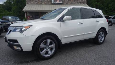 2012 Acura MDX for sale at Driven Pre-Owned in Lenoir NC