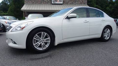 2012 Infiniti G37 Sedan for sale at Driven Pre-Owned in Lenoir NC