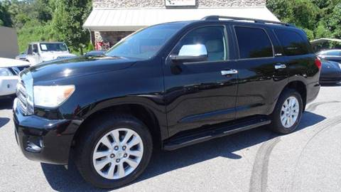2010 Toyota Sequoia for sale at Driven Pre-Owned in Lenoir NC