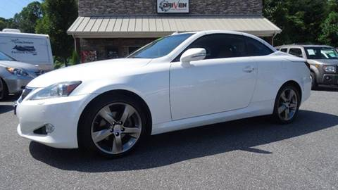 2011 Lexus IS 250C for sale at Driven Pre-Owned in Lenoir NC