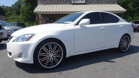 2006 Lexus IS 250 for sale at Driven Pre-Owned in Lenoir NC