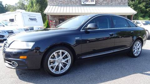 2011 Audi A6 for sale at Driven Pre-Owned in Lenoir NC