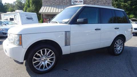 2009 Land Rover Range Rover for sale at Driven Pre-Owned in Lenoir NC