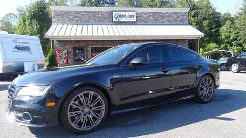 2012 Audi A7 for sale at Driven Pre-Owned in Lenoir NC