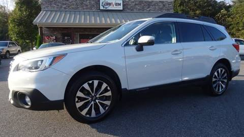 2015 Subaru Outback for sale at Driven Pre-Owned in Lenoir NC