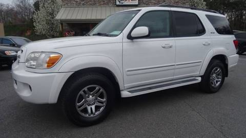 2006 Toyota Sequoia for sale at Driven Pre-Owned in Lenoir NC