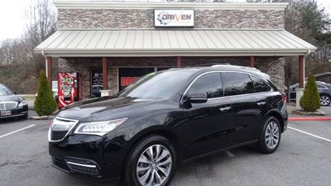 2014 Acura MDX for sale at Driven Pre-Owned in Lenoir NC