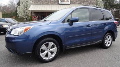 2014 Subaru Forester for sale at Driven Pre-Owned in Lenoir NC