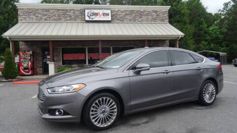 2014 Ford Fusion for sale at Driven Pre-Owned in Lenoir NC