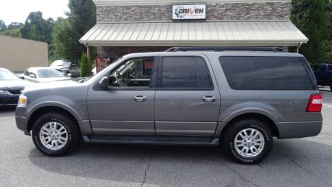 2012 Ford Expedition EL for sale at Driven Pre-Owned in Lenoir NC