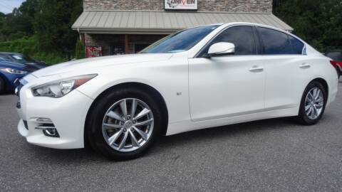 2014 Infiniti Q50 for sale at Driven Pre-Owned in Lenoir NC