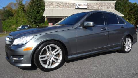 2012 Mercedes-Benz C-Class for sale at Driven Pre-Owned in Lenoir NC