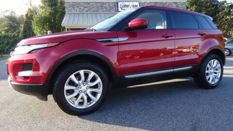 2014 Land Rover Range Rover Evoque for sale at Driven Pre-Owned in Lenoir NC
